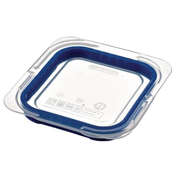 Araven luchtdicht deksel voor ABS blauwe voedseldoos GN 1/6
