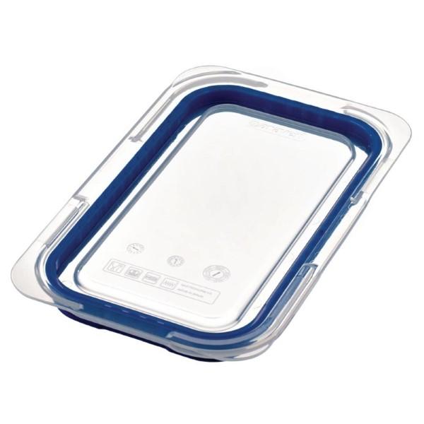 Araven luchtdicht deksel voor ABS blauwe voedseldoos GN 1/4