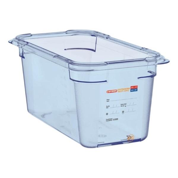 Araven ABS blauwe GN 1/3 voedseldoos 15cm diep