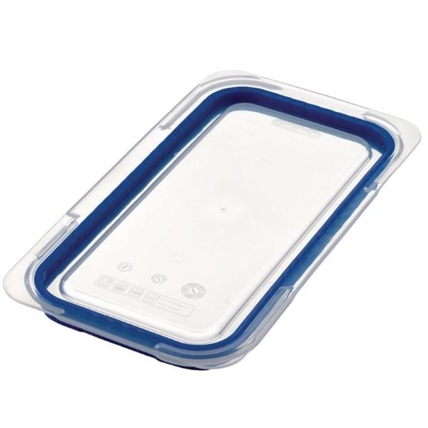 Araven luchtdicht deksel voor ABS blauwe voedseldoos GN 1/3