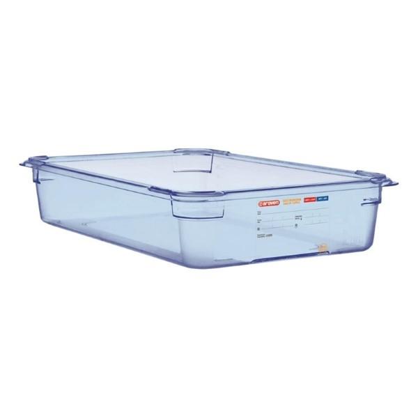 Araven ABS blauwe GN 1/1 voedseldoos 10cm diep