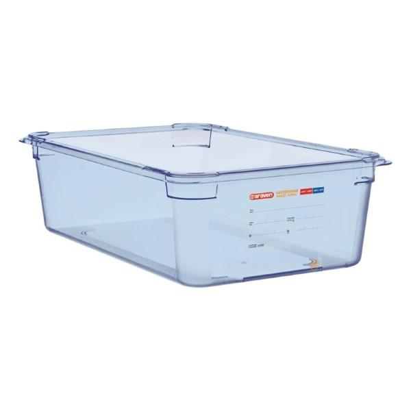 Araven ABS blauwe GN 1/1 voedseldoos 15cm diep
