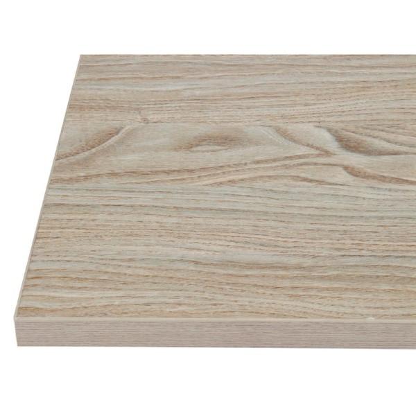 Bolero vierkant tafelblad Antique Natural 60cm