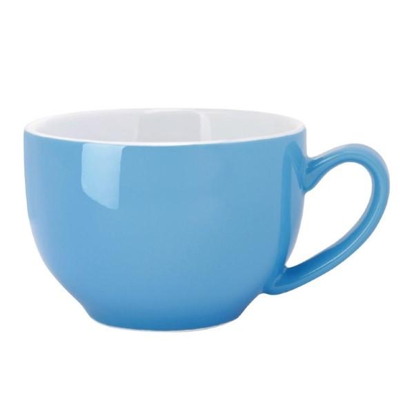Olympia Café cappuccinokoppen blauw 34cl