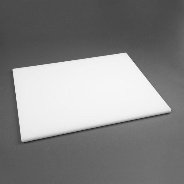 Hygiplas LDPE extra dikke snijplank wit 600x450x20mm