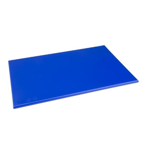 Hygiplas HDPE snijplank blauw 450x300x12mm