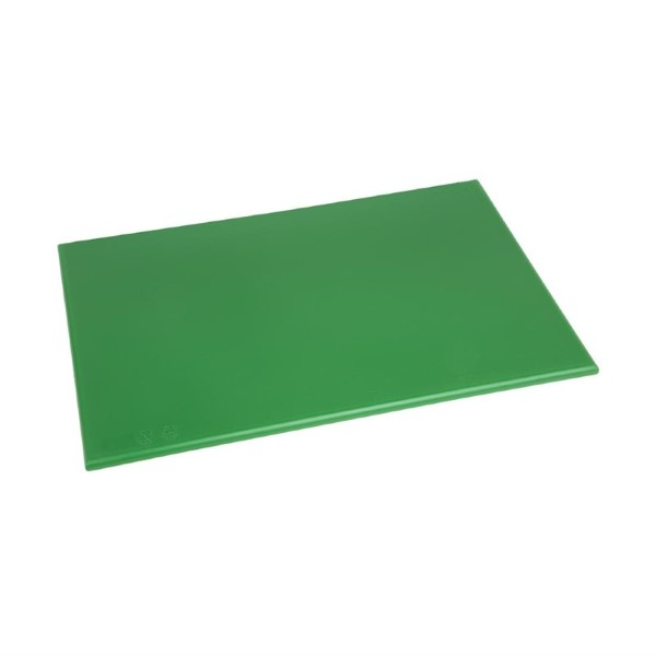 Hygiplas HDPE snijplank groen 450x300x12mm