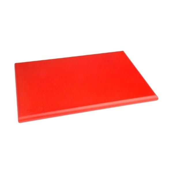 Hygiplas HDPE snijplank rood 450x300x25mm