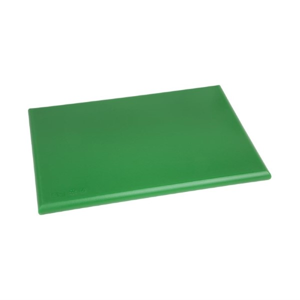 Hygiplas HDPE snijplank groen 450x300x25mm