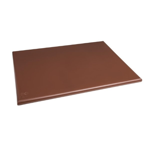 Hygiplas HDPE snijplank bruin 600x450x25mm