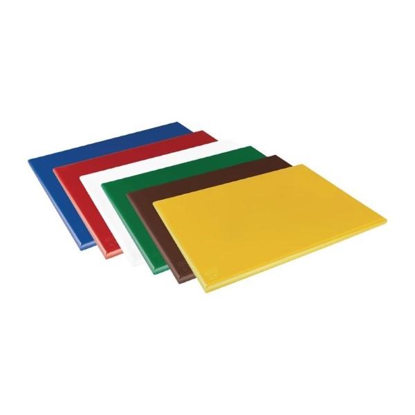 Hygiplas HDPE snijplank geel 600x450x25mm