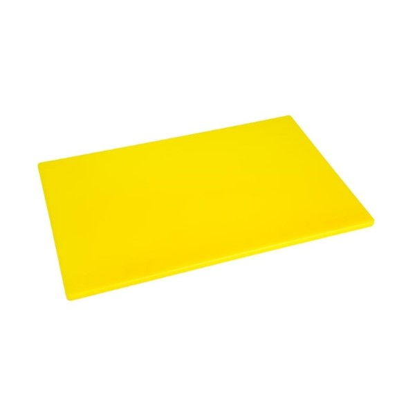 Hygiplas LDPE snijplank geel 450x300x12mm
