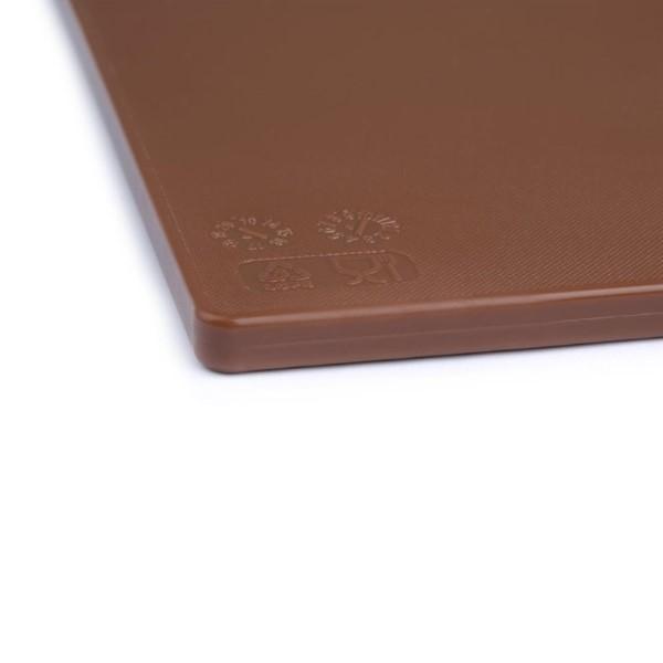 Hygiplas LDPE snijplank bruin 450x300x12mm