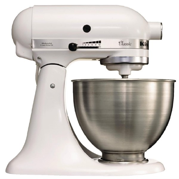 KitchenAid K45 professionele mixer wit 4,28L
