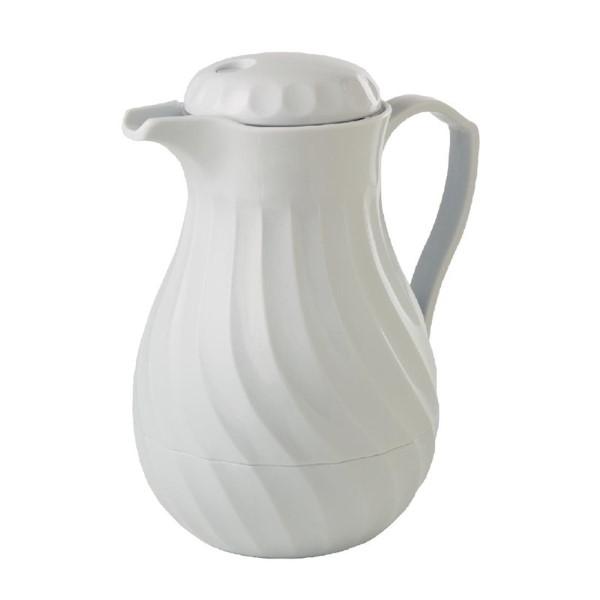Kinox koffie isoleerkan wit 1,1L