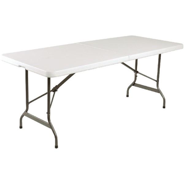 Bolero inklapbare tafel wit 183cm