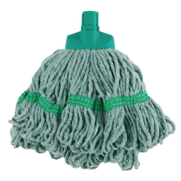 SYR ronde mop 35,5cm groen