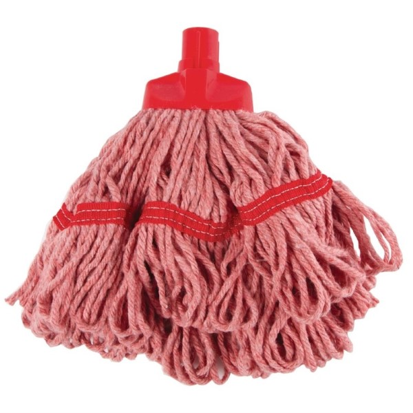 SYR ronde mop 35,5cm rood