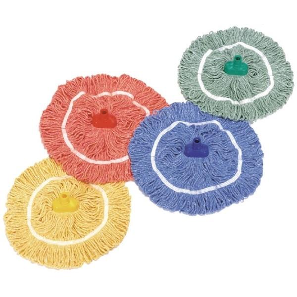 SYR ronde mop 35,5cm geel