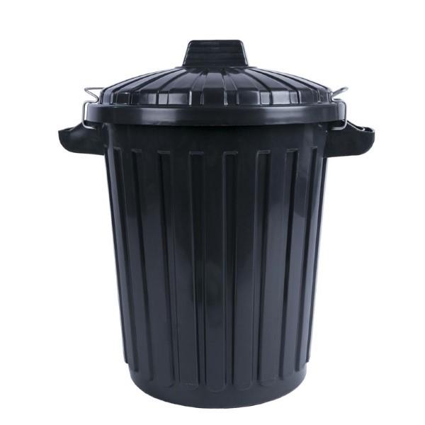 Curver afvalcontainer met deksel 70L