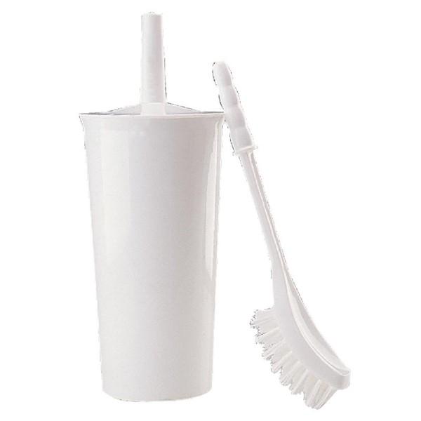Jantex toiletborstel met kunststof houder