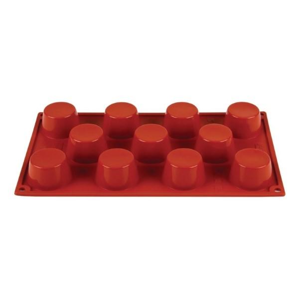 Pavoni Formaflex siliconen bakvorm 11 mini-muffins