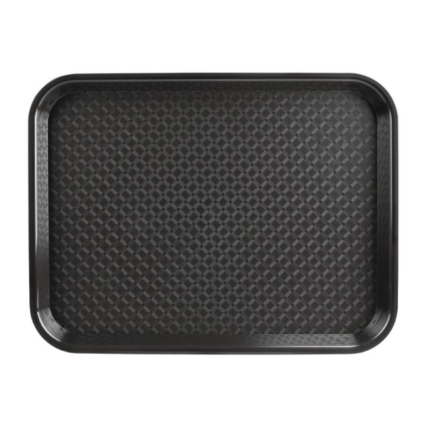Kristallon dienblad plastic 305x415mm zwart