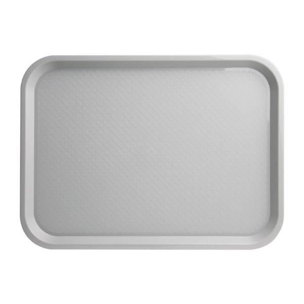Kristallon dienblad plastic 305x415mm grijs