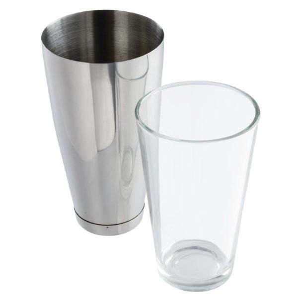 APS boston cocktailshaker en glas