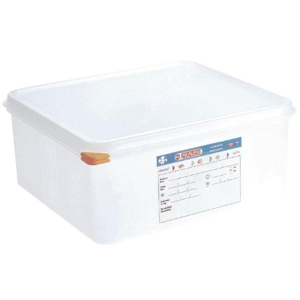 Araven GN2/3 voedselbak met deksel 13,5L