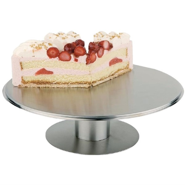 APS RVS draaibare taartschotel 30cm