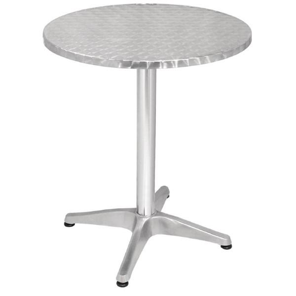 Bolero ronde RVS tafel 60cm