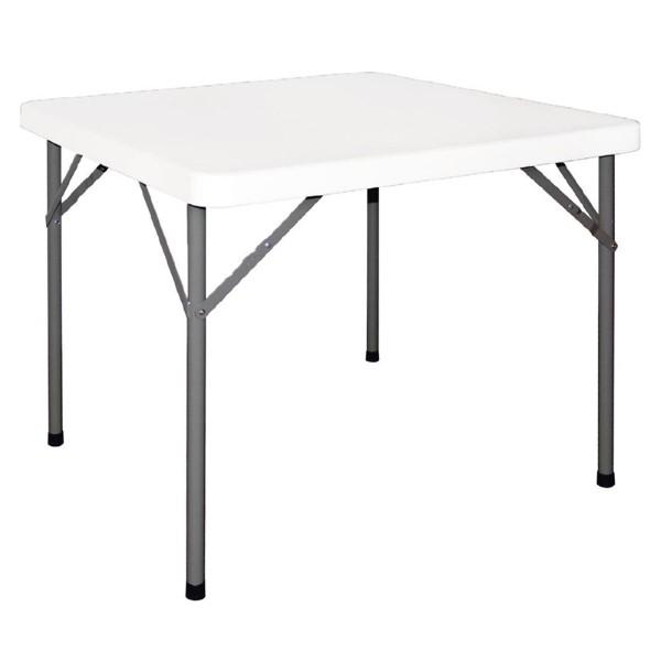 Bolero vierkante opklapbare tafel 86cm