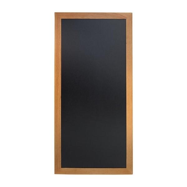 Securit lang wandbord teak effect 120x56cm