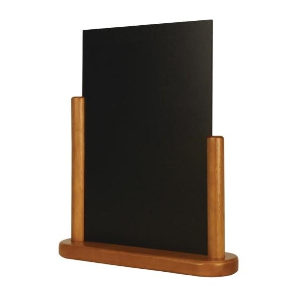 Securit tafelkrijtbordje teak 32x27cm